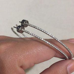 Michael kors hoop earrings